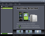 4Videosoft iPod touch Manager for ePub screenshot